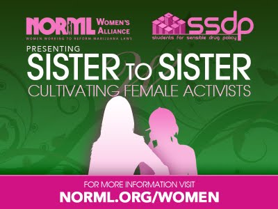 NORML & SSDP Present: Sister-to-Sister